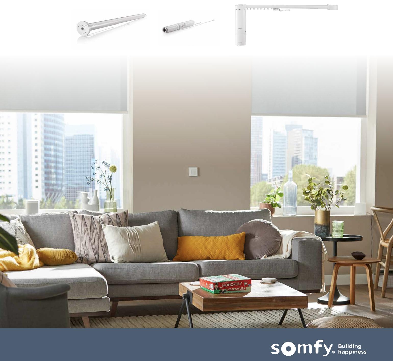 Somfy de perfecte oplossing voor elk raam